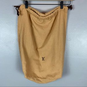Louis Vuitton large drawstring dust bag